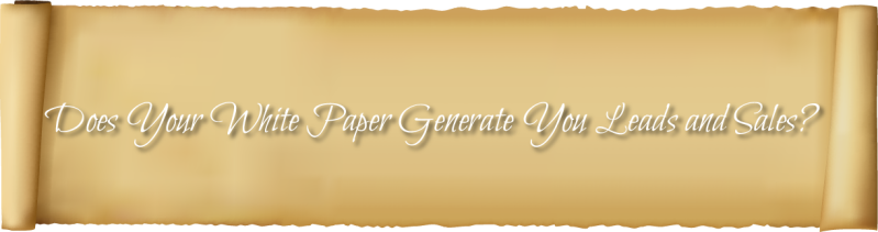 White paper's effectiveness